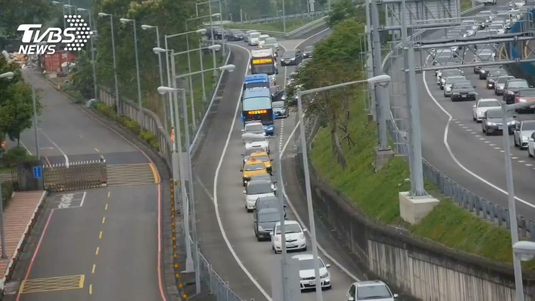 (圖/TVBS資料畫面) 國慶3天連假疏運 林佳龍:嚴峻程度更甚中秋