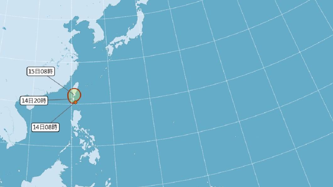 氣象局發布熱帶性低氣壓特報 不排除登陸台灣