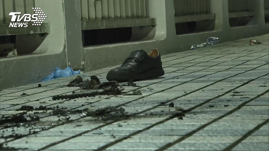 (圖/TVBS資料畫面) 監察院旁天橋自焚亡 母親因「心結」拒認屍