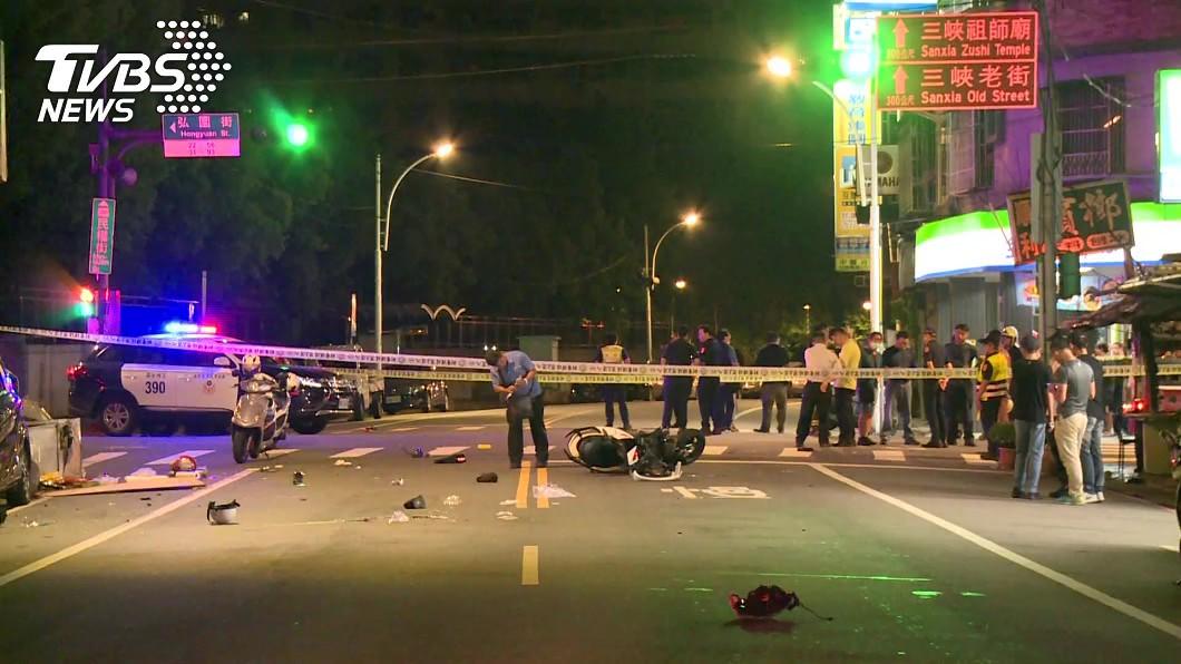(圖/TVBS資料畫面) 少年無照撞警車1死1傷 休學前曾是校方頭痛人物