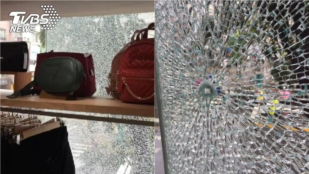 高雄精品店遭槍擊。(示意圖/TVBS) 治安再敲警鐘!高雄精品店遭槍擊 玻璃出現彈孔