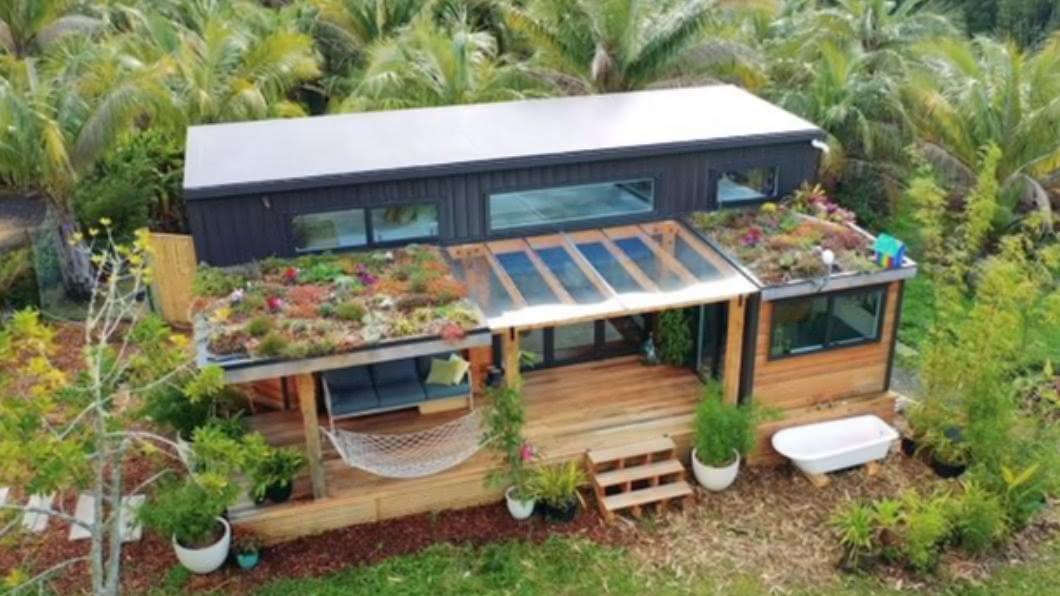 圖/翻攝自Living Big In A Tiny House youtube 屋主巧手打造小豪宅 紐西蘭超質感迷你屋