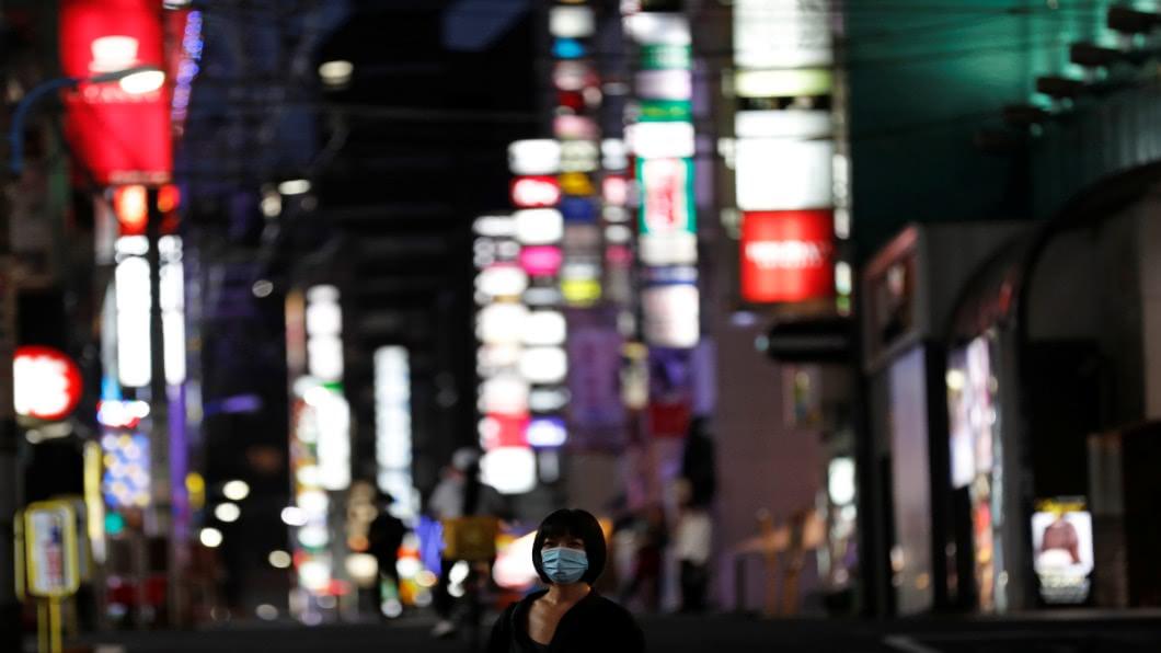 圖/達志影像路透 「第一波特徵」重演 日本第二波疫情恐將臨
