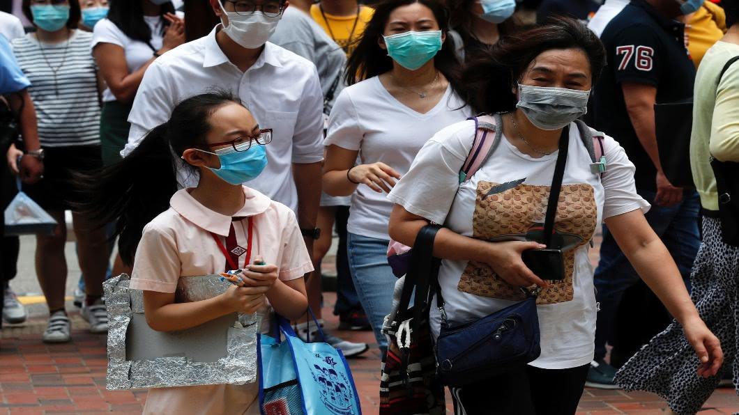 圖/達志影像路透 香港疫情擴散!公立醫院爆院內傳染