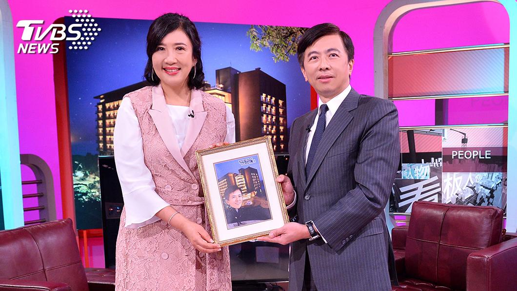 《TVBS看板人物》主持人方念華專訪雲朗集團總經理盛治仁。圖/TVBS 《TVBS看板人物》盛治仁:我們用什麼心態去面對危機  決定我們是怎樣的人