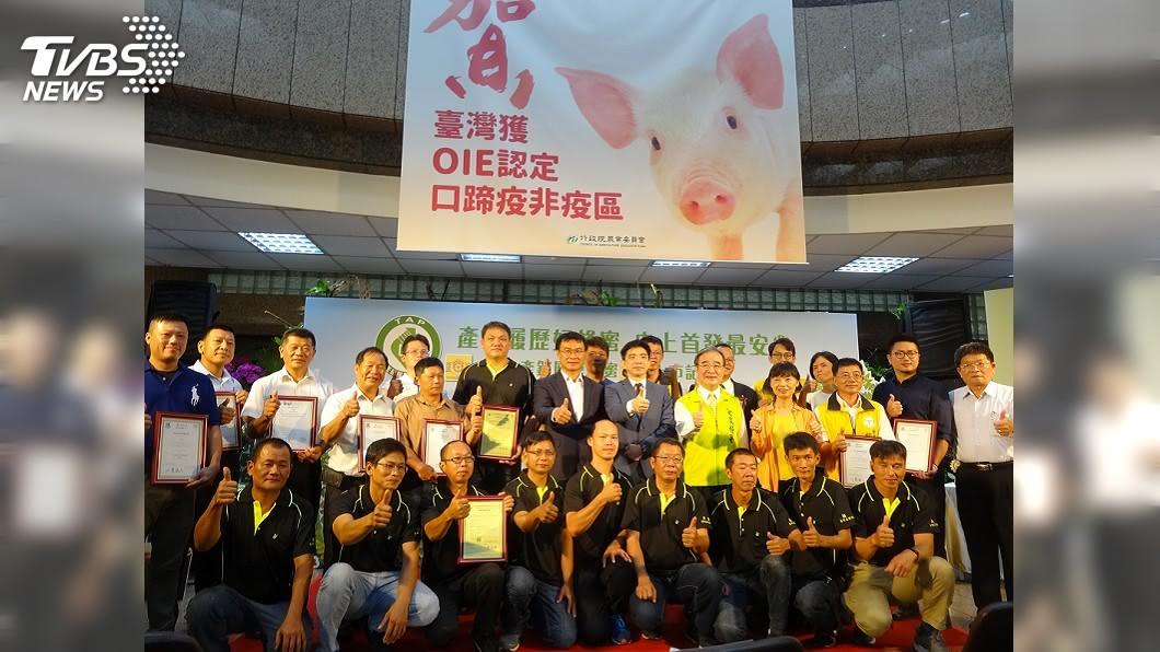 農委會今天召開「產銷履歷蜂蜜首發上市」記者會。(圖/中央社) 免驚買到摻假的! 產銷履歷蜂蜜首發上市了