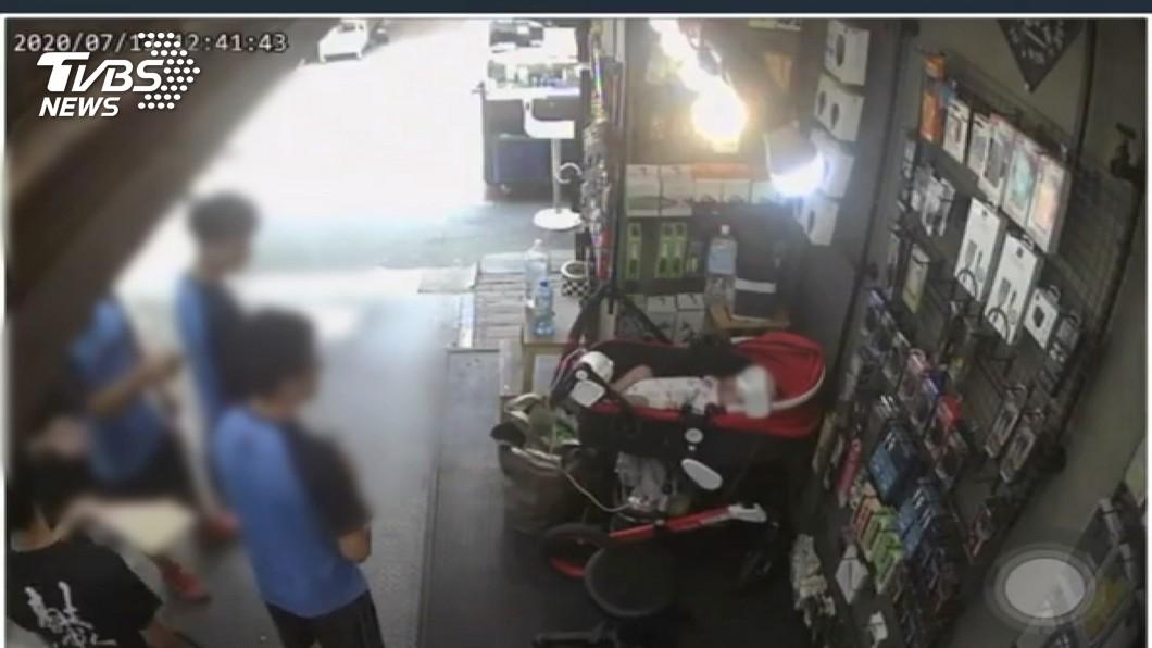 圖/TVBS 女嬰被嗆「是狗」 再遭假帳恐嚇丟汽油彈