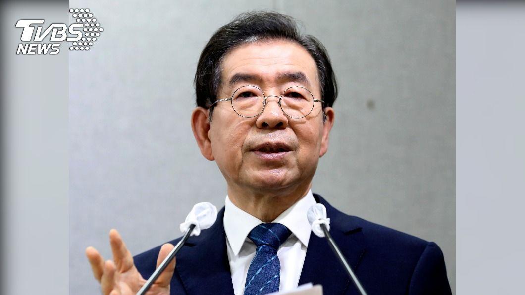 南韓首爾市長朴元淳原形象良好,被視為總統文在寅未來接班人。(圖/達志影像美聯社) 喊「寶貝」要女秘書拿內褲 首爾市長醜態全曝光