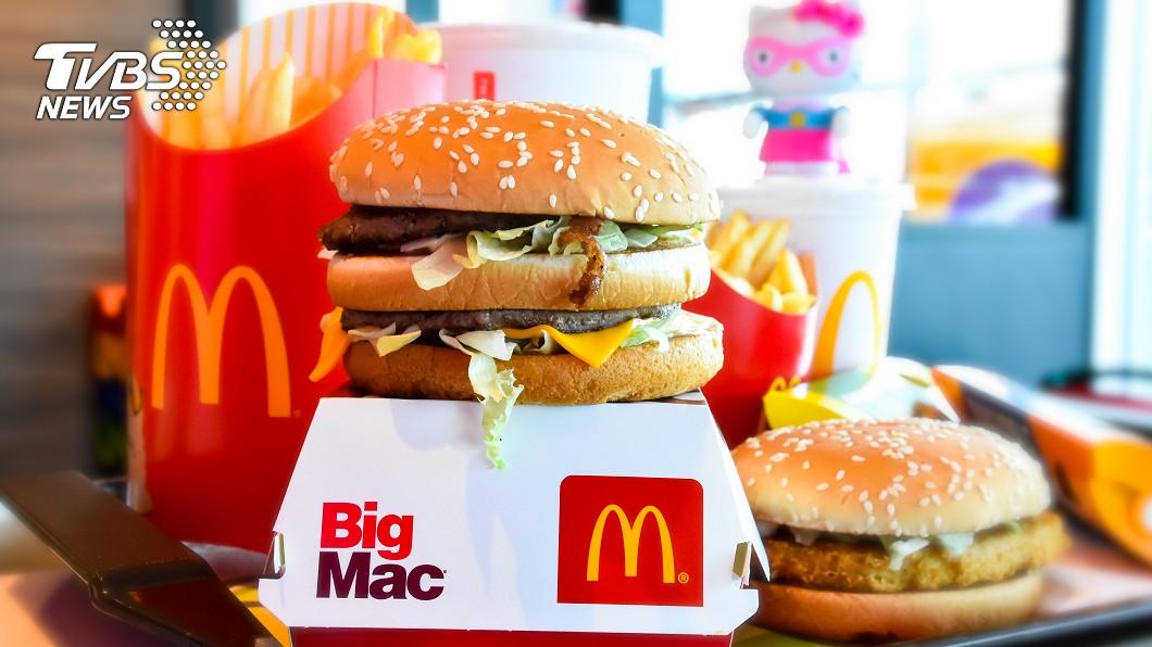 示意圖/shutterstock達志影像 免費爽吃大麥克!麥當勞「熟客券」回歸 優惠限時28天