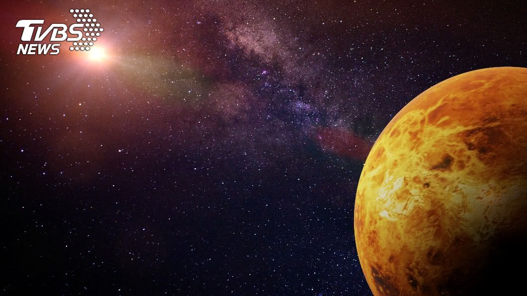 科學家首度於金星找到活躍火山結構,擺脫休眠狀態並打破以往認知。(示意圖/shutterstock 達志影像) 科學家首於金星找到活躍火山結構 擺脫休眠狀態