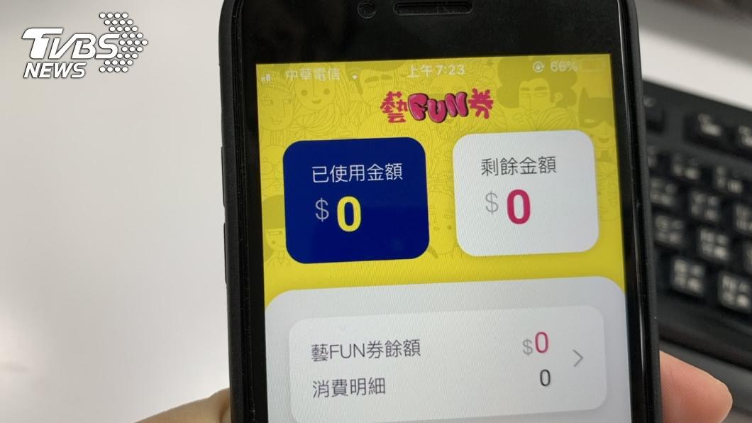 (示意圖。圖/TVBS) 60萬份紙本藝FUN券來了!3資格可申請 中籤率曝光