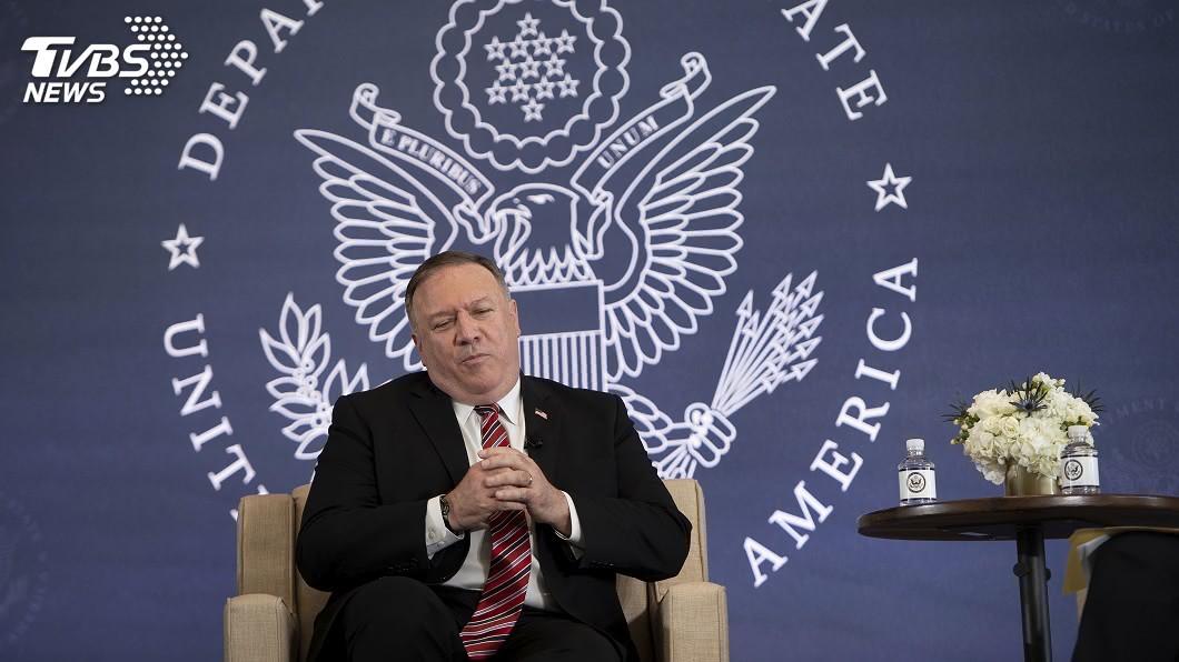 美國國務卿龐佩奧。(圖/達志影像美聯社) 中國駐美領館被關閉 龐佩奧再控北京竊智慧財產