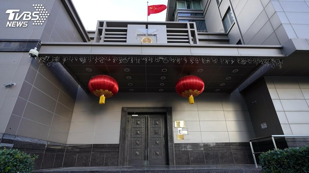 中國駐休士頓總領事館。(圖/達志影像美聯社) 關係急遽惡化 華府令關閉首個駐美領事館北京跳腳