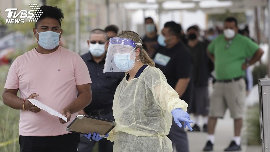加州武漢肺炎確診案例超過40萬9000例,成為全美確診人數最多的州。(圖/達志影像美聯社) 加州武漢肺炎確診逾40.9萬例 躍居全美之首