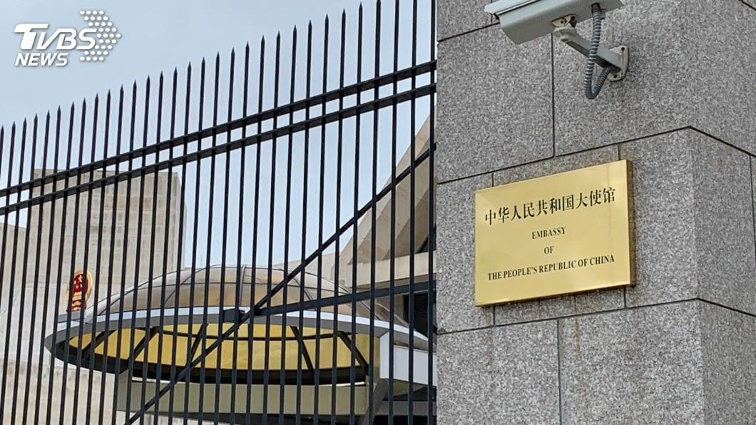 位於華府的中國大使館。(示意圖/shutterstock 達志影像) 中國駐休士頓領館遭強制關閉 華府中使館未見異常