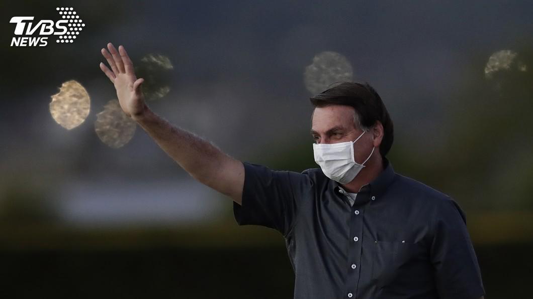 巴西總統波索納洛。(圖/達志影像美聯社) 巴西總統染疫 最新篩檢新型冠狀病毒仍呈陽性
