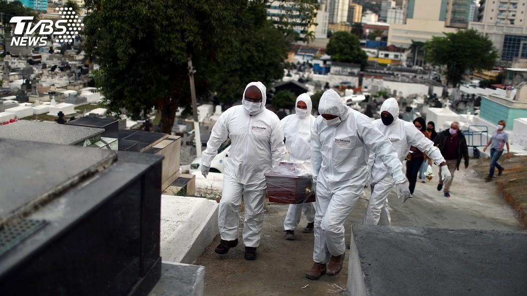 圖/路透社 快訊/美國確診數逾454萬人 死亡數破15.2萬
