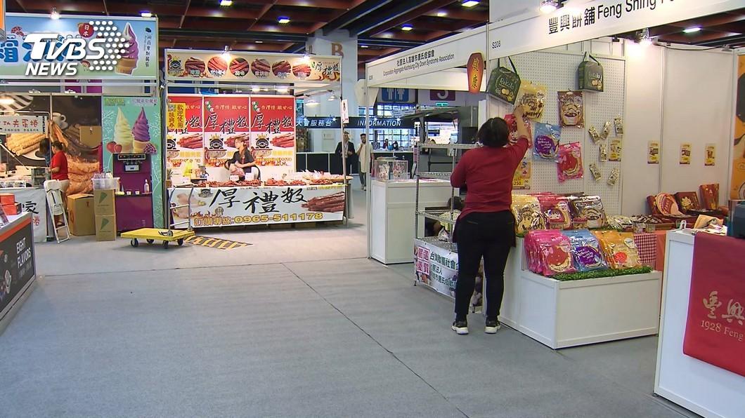 圖/TVBS 獨特國際零食展! 法式冰品PK阿曼椰棗