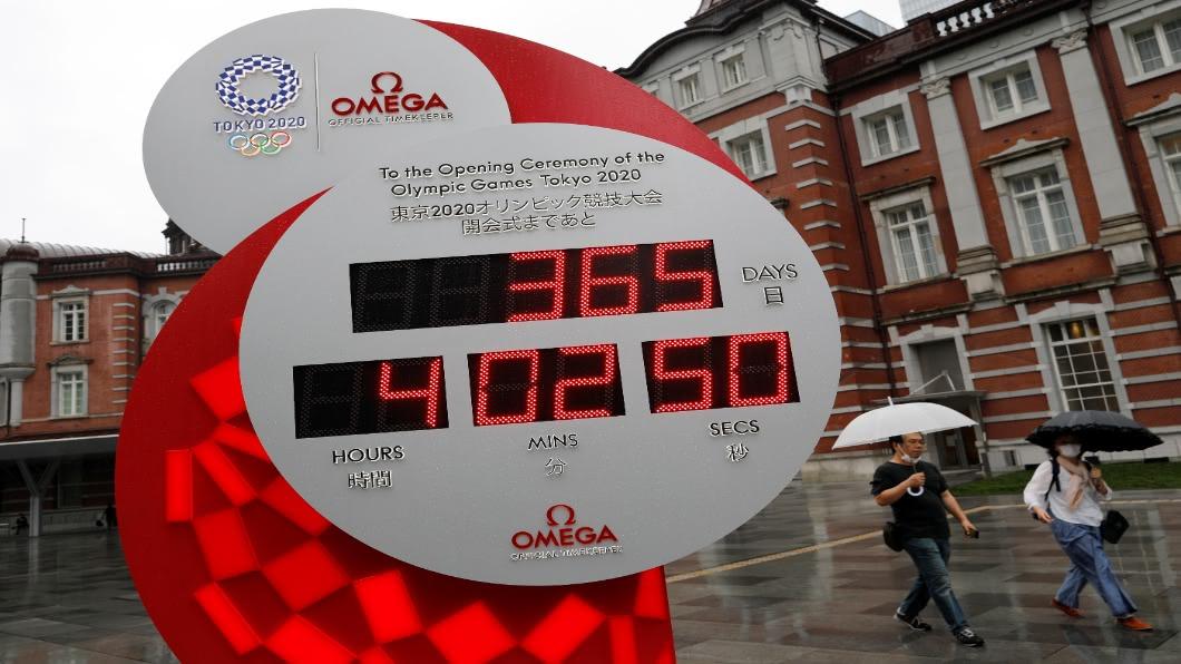 圖/達志影像路透 2020奧運倒數365天 東京辦「平行時空開幕式」