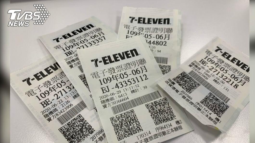 5、6月統一發票中獎號碼出爐。(圖/TVBS) 千萬富翁是你? 統一發票5-6月特別獎出爐