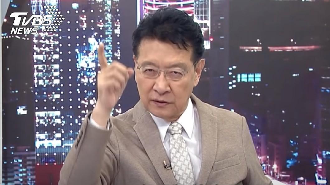 趙少康預言民進黨未來恐自我毀滅。(圖/TVBS) 一黨獨大?趙少康示警:民進黨遲早自我毀滅