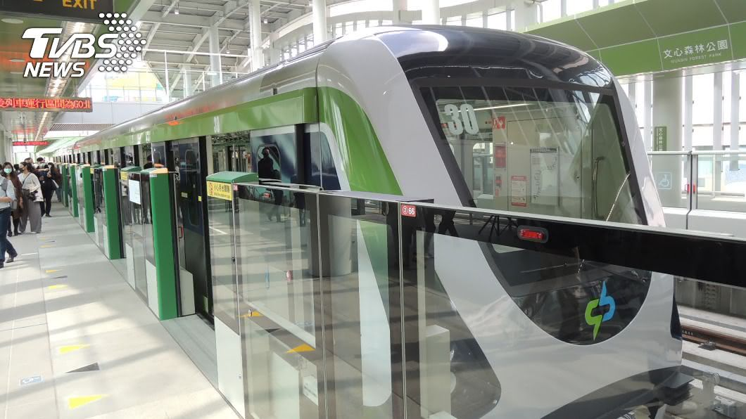 台中捷運綠線預計年底完工。(圖/中央社) 台中捷運拚年底通車! 8/7啟動初勘