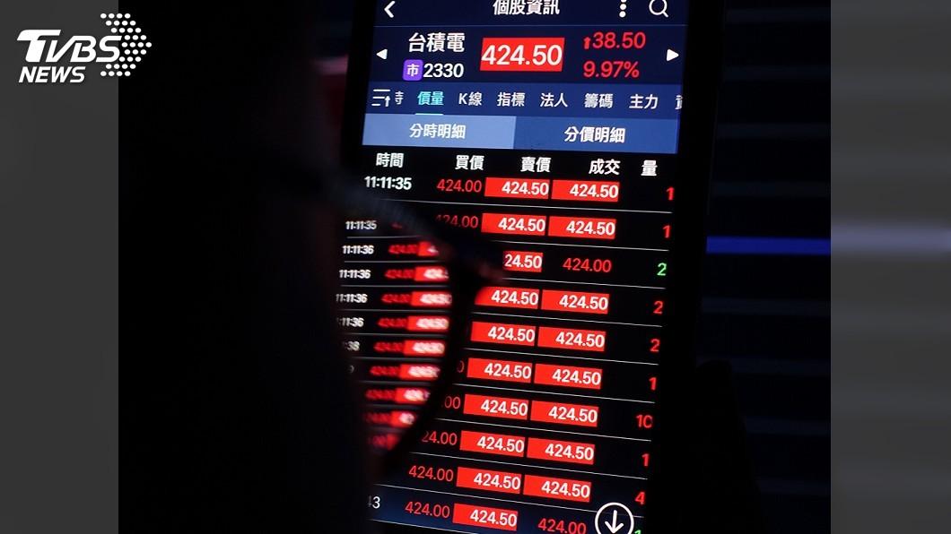 晶圓代工廠台積電今天股價表現亮麗,強攻漲停。(圖/中央社) 股價漲停、市值衝11兆元 台積電刷新多項紀錄