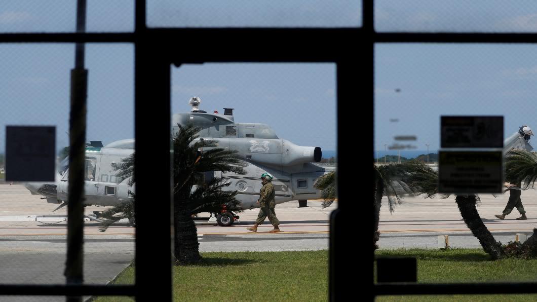 圖/達志影像路透 駐日美軍239人染疫!沖繩疫情升溫.拚觀光兩難