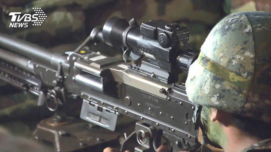 (圖/TVBS) 4個月訓練役強度提升行軍20公里 延長役期再議