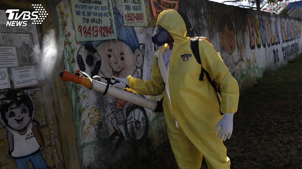 全球疫情仍在升溫。(圖/達志影像美聯社) 短短6週染疫人口翻倍 武漢肺炎全球最新情報