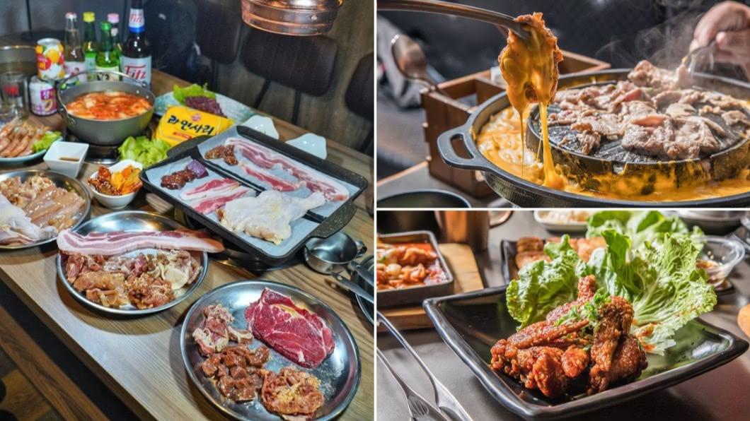 北中南3家超划算韓式烤肉吃到飽推薦。(圖/跟著尼力吃喝玩樂&親子生活、柚香魚子醬的蹦蹦跳跳、大手牽小手玩樂趣提供) 肉食族天堂!韓式烤肉吃到飽 北中南大比拚