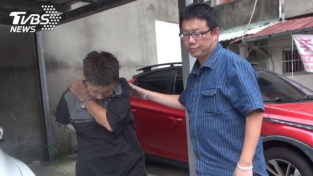 (圖/台北市警察局中正第二分局提供) 男藥頭罹癌販毒換救命錢 難逃警法網