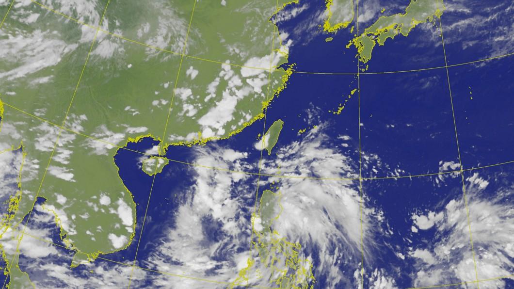 (圖/中央氣象局) 太平洋高壓勢力強 史上首次7月無颱風機率高