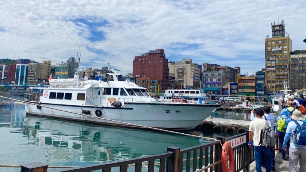基隆「水路體驗遊程」將在8/1日啟航,可遊玩雙港(基隆港、正濱漁港)到和平島。(圖/基隆市政府提供) 基隆「水路體驗遊程」8/1啟航 任遊雙港到和平島