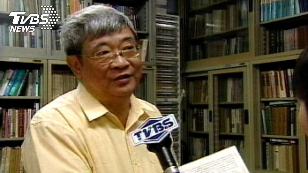 台大前教授王曉波今晨病逝,享壽77歲。(圖/TVBS資料畫面) 台大前教授王曉波今晨病逝 享壽77歲