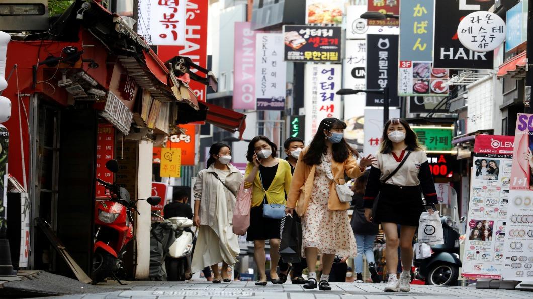 圖/達志影像路透  南韓經濟負成長 無人商店增.失業率創新高