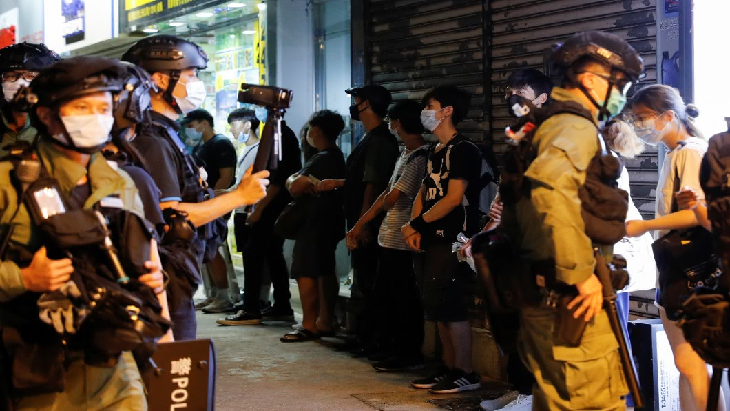 圖/達志影像路透 創制黨黨綱「建香港共和國」涉國安法遭逮