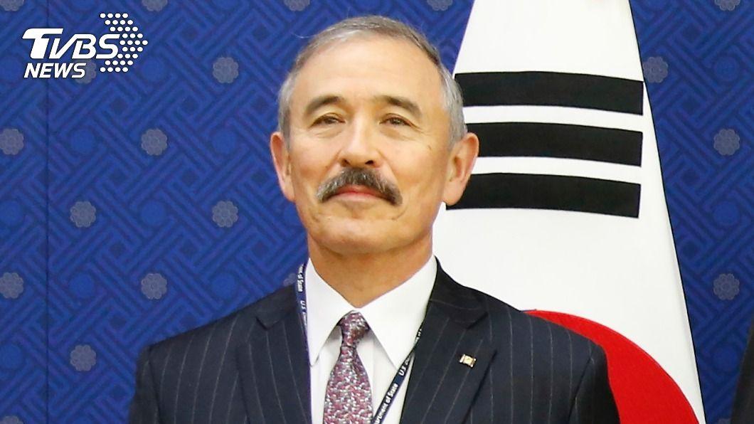 圖/達志影像美聯社 太像日本總督? 美駐韓大使剃掉「爭議鬍子」