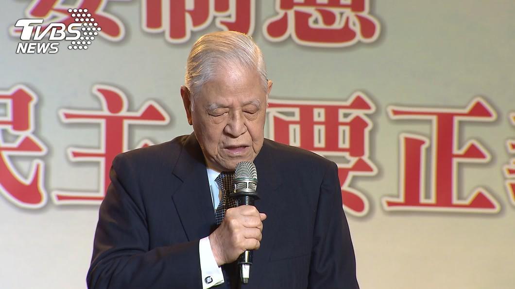 前總統李登輝與世長辭,享耆壽98歲。(圖/TVBS資料畫面) 前總統李登輝辭世 馬英九不捨:感念他對台灣的付出