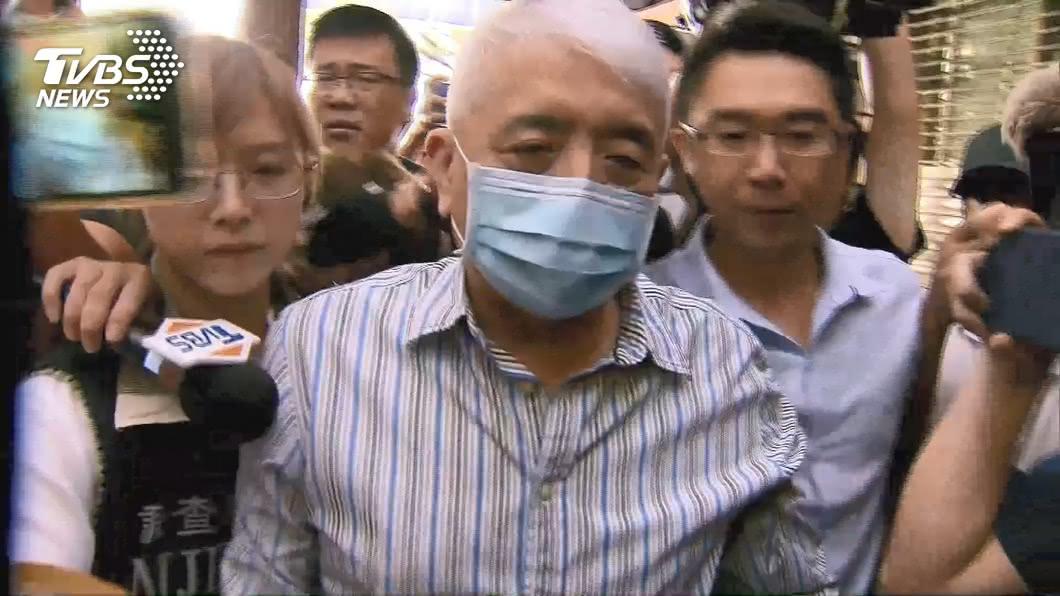 前太流董事長李恆隆。(圖/TVBS) 李恆隆搜索前獲知被調查 北檢分洩密案偵辦中