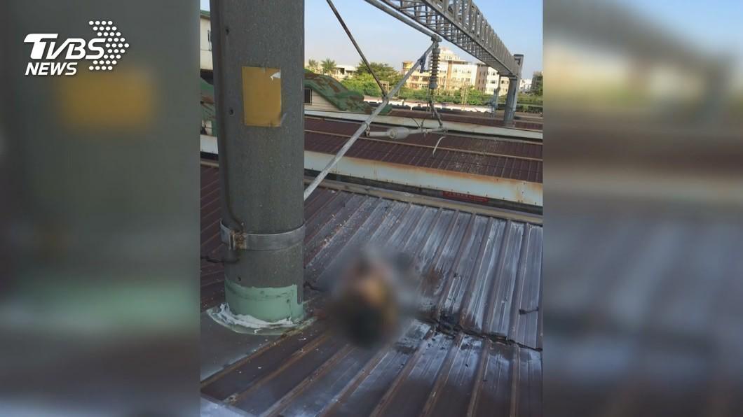 59歲女爬月台雨棚 遭2萬5千伏特電擊命危