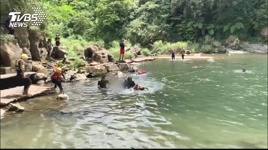 同學約瀑布玩水 銘傳22歲女大生溺水不治