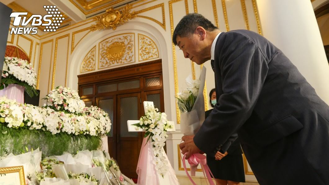 陳時中上午赴台北賓館追思前總統李登輝。(圖/中央社) 工程師感染源待檢驗 陳時中:境外移入可能性較高