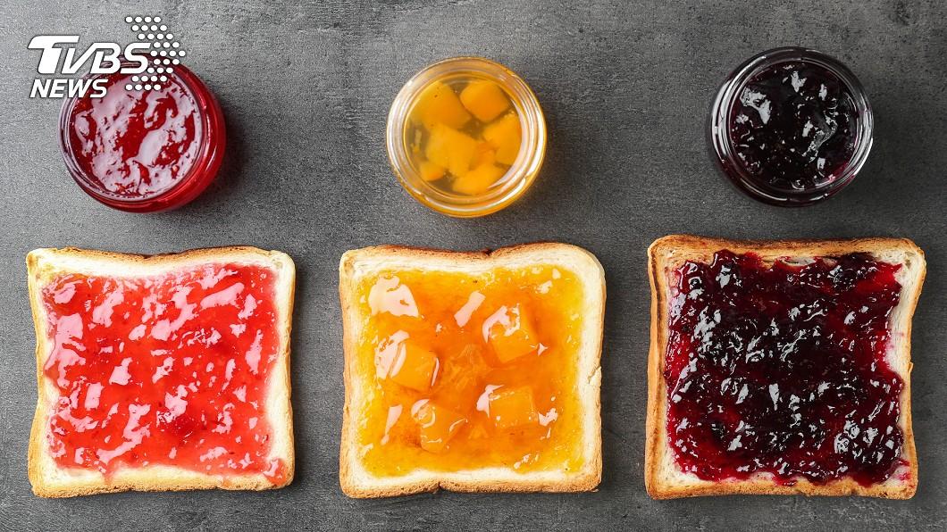 營養師整理6種常見果醬熱量表。(示意圖/shutterstock達志影像) 難怪會胖!營養師揭「爆肥果醬Top6」熱量最高竟是它