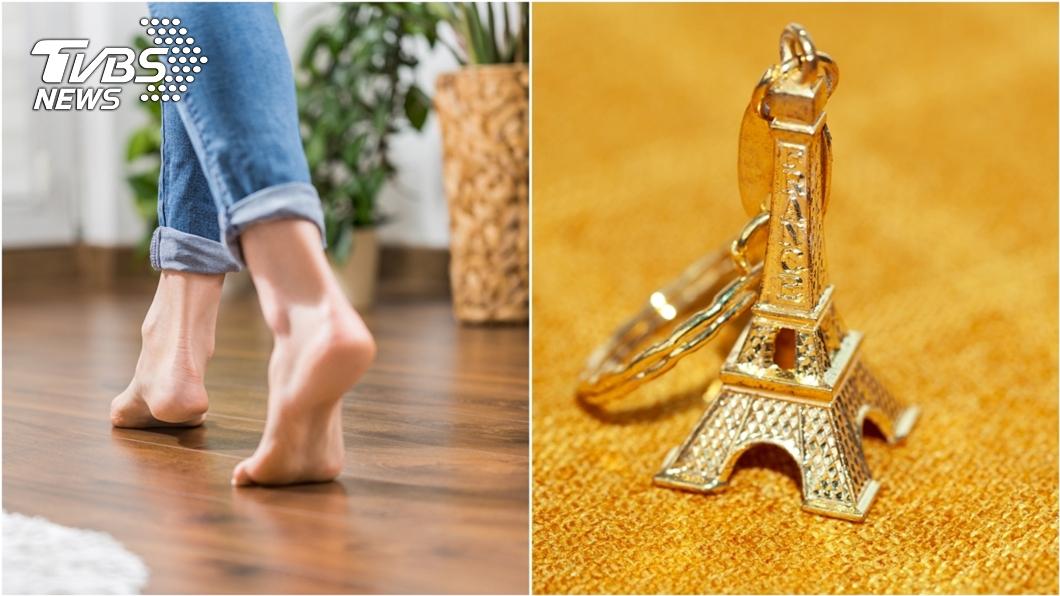 非當事人。(示意圖/shutterstock達志影像) 痛!赤腳誤踩鐵塔模型「整根插腳掌」 網嚇瘋:秒到巴黎