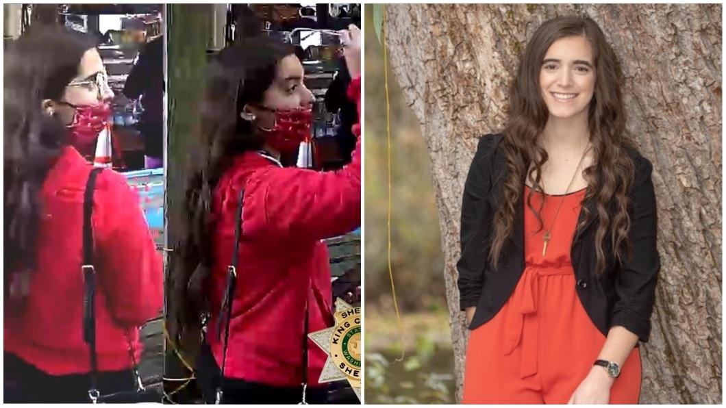 美國1名18歲少女,日前在西雅圖一處山脈失蹤8天,直到第9天被順利尋獲。(圖/翻攝自推特合成) 遇到魔神仔?18歲女深山失蹤8天生還 記憶斷片想不起