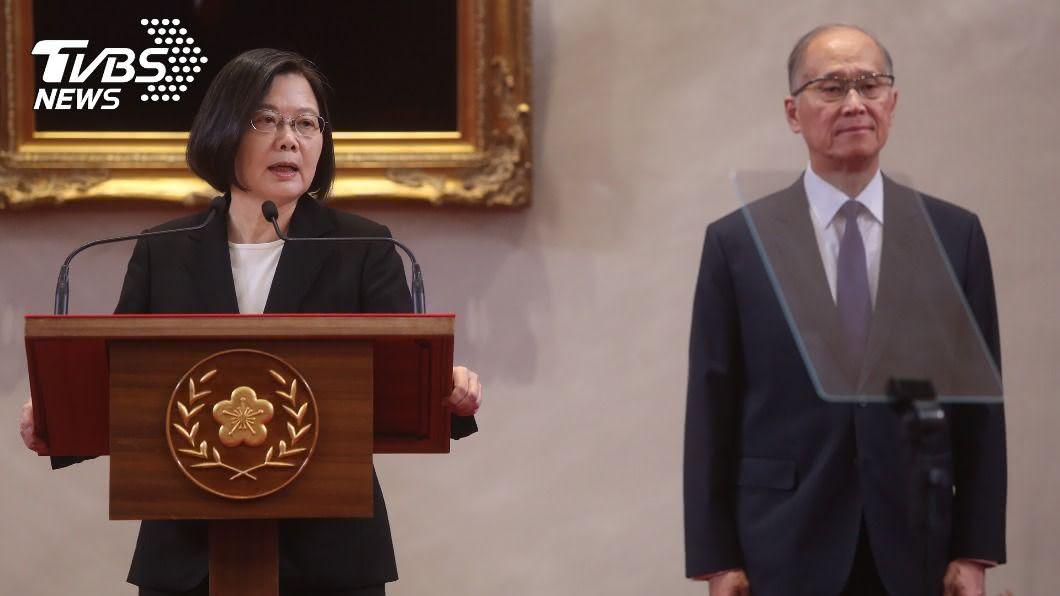 (圖/中央社) 蔡英文迅速拍板李大維 黨政高層:不陷派系糾紛
