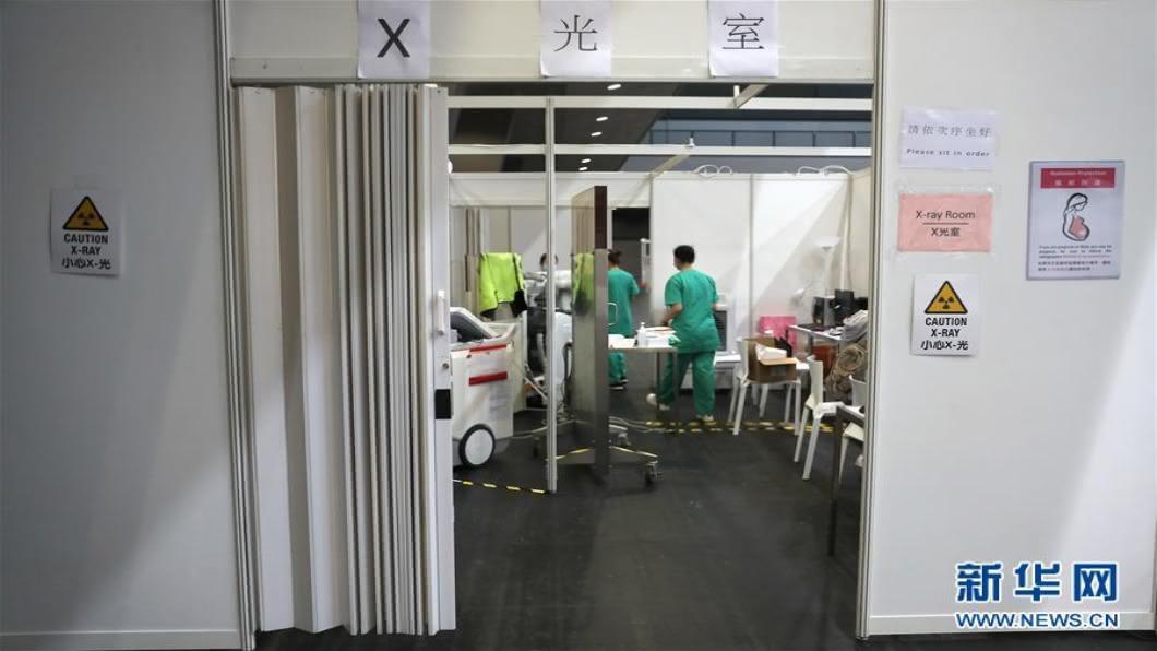 圖/翻攝自 新華網 中國大陸伸援手 願提供750萬港人核酸檢測