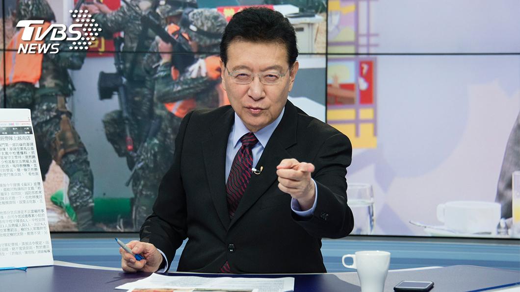 趙少康認為,未來國民黨想要重返執政,只有這2種可能。(圖/TVBS) 藍營想重返執政?趙少康直言:只有2種可能