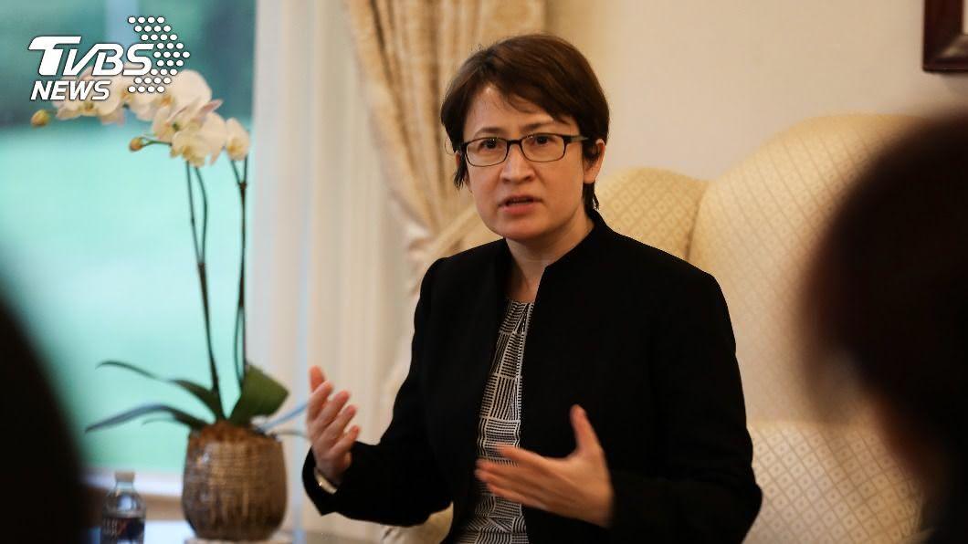 駐美代表蕭美琴。(圖/中央社) 蕭美琴華府履新 聚焦經貿合作與國家安全